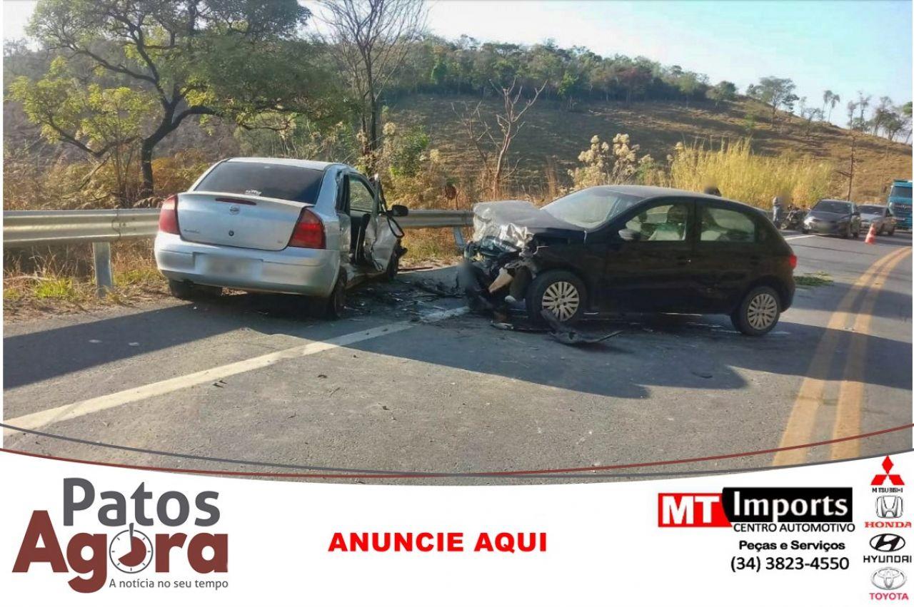 Motorista que se envolveu em acidente na BR-354 segue internado na UTI