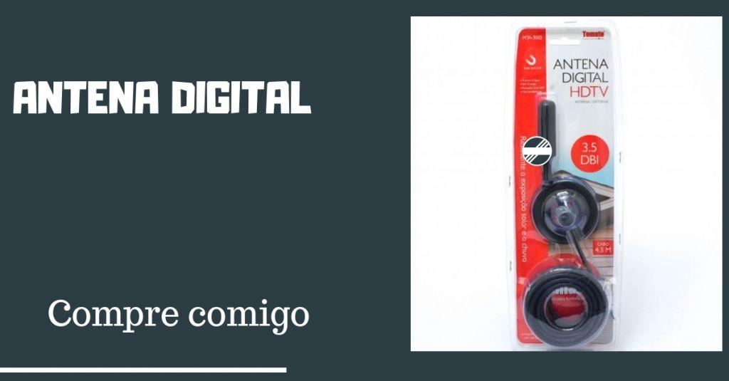 Compre agora sua Antena Digital Tomate