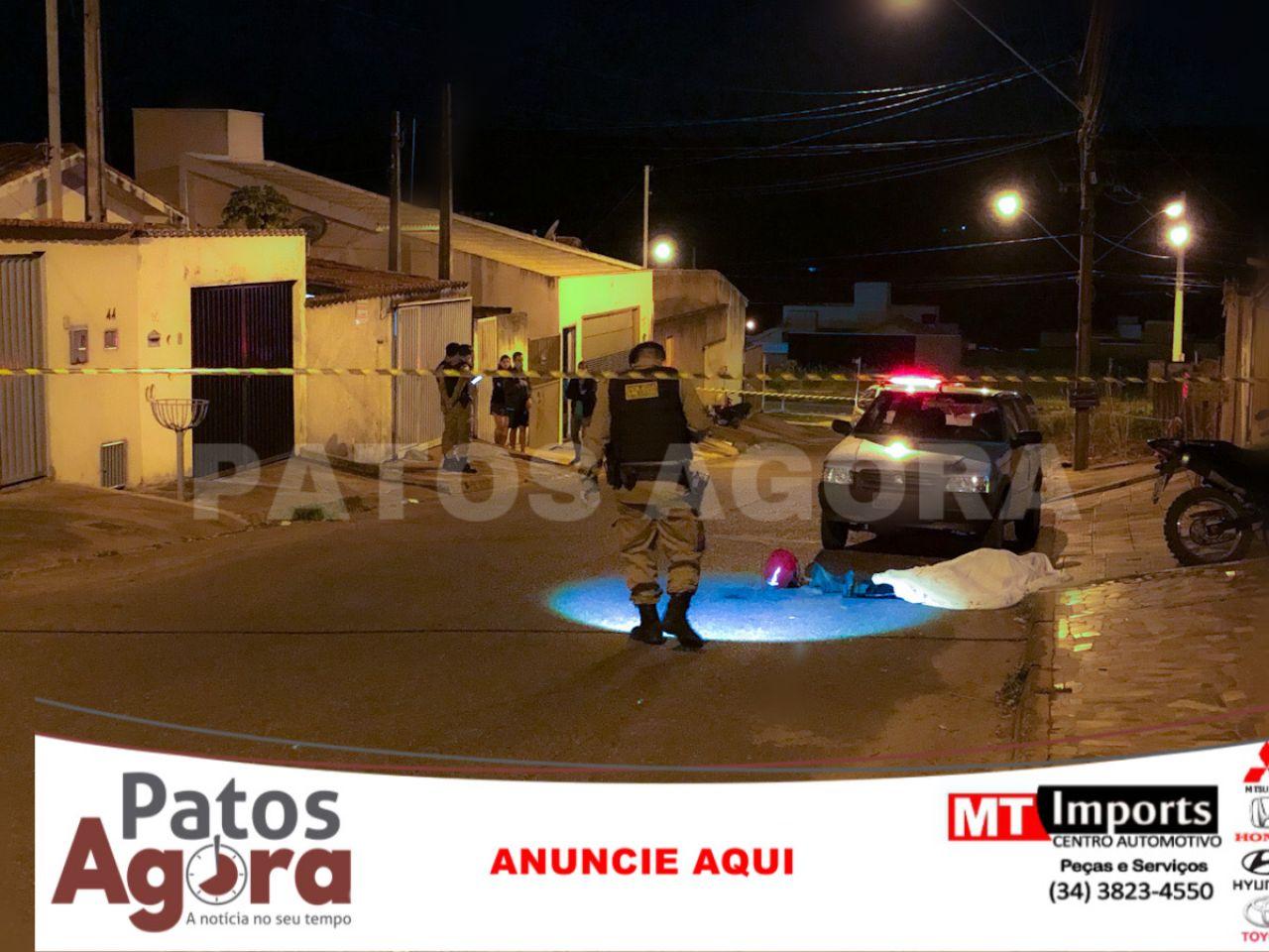 Homem é morto no bairro Alvorada em Patos de Minas