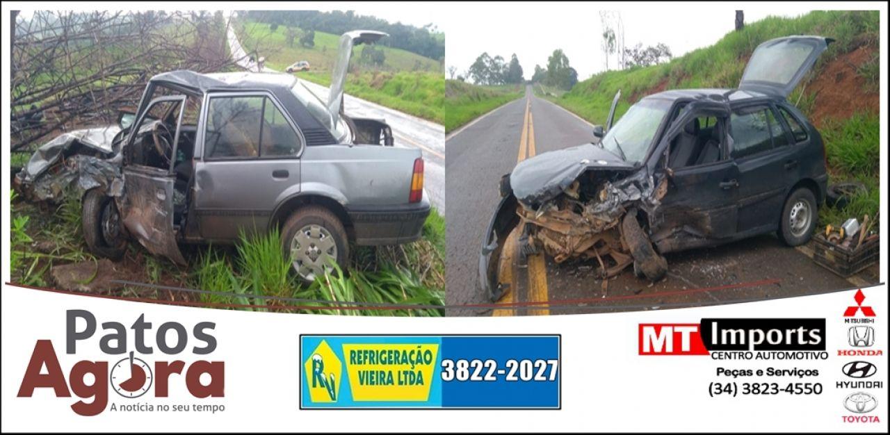 Dois motoristas inabilitados são detidos após acidente na rodovia LMG 764