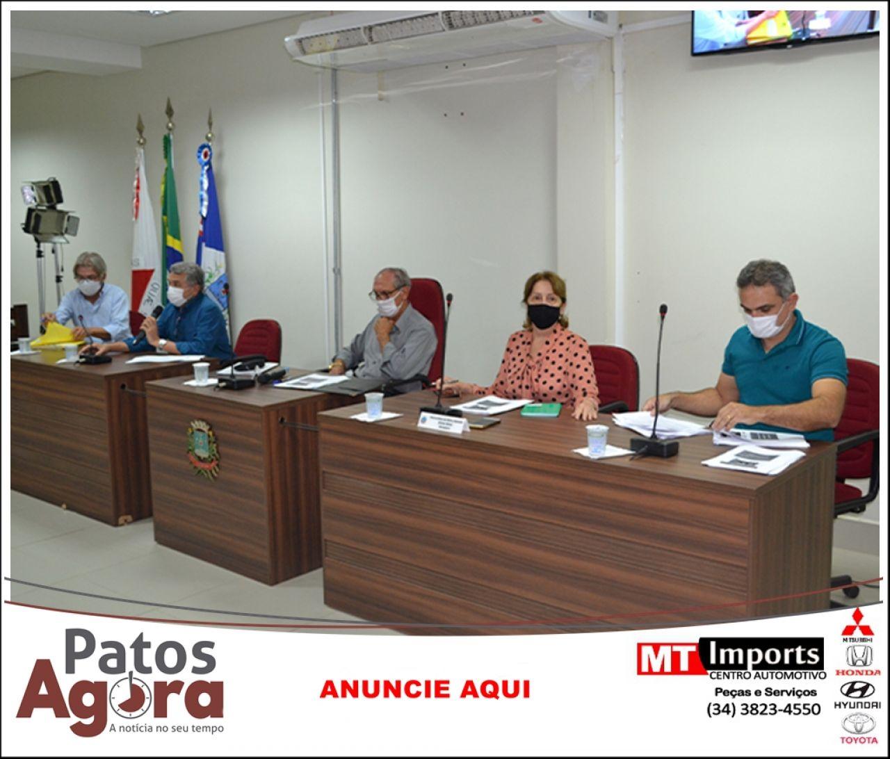 Câmara Municipal analisa relatório de receita e despesa da Secretaria de Saúde com a Covid-19