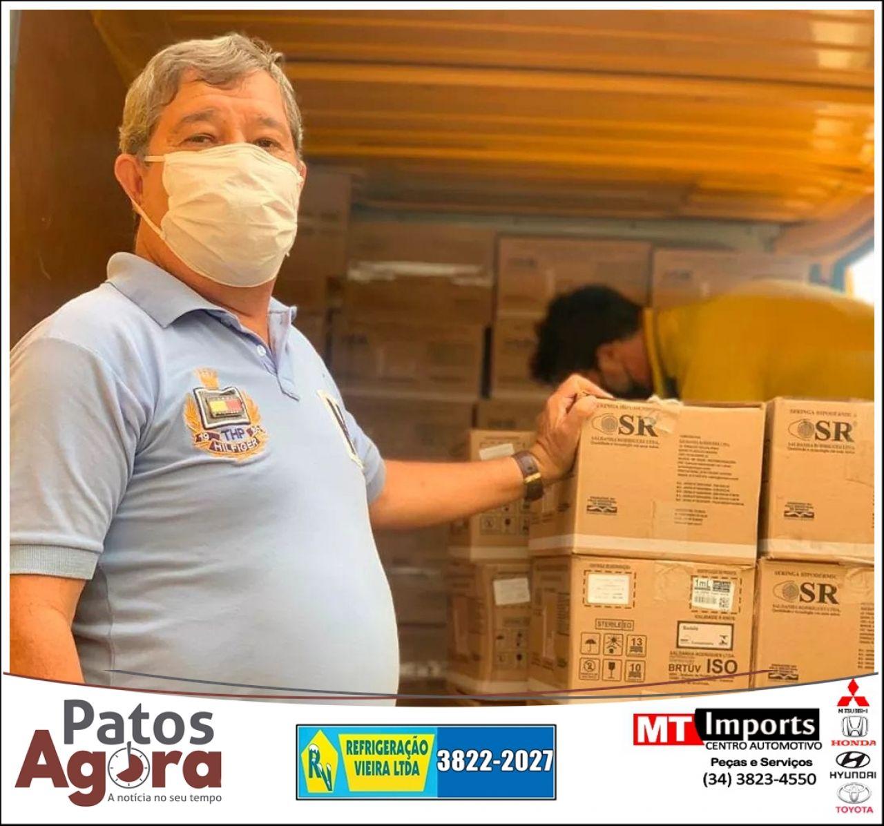 Regionais receberão materiais que vão auxiliar na vacinação contra a Covid-19