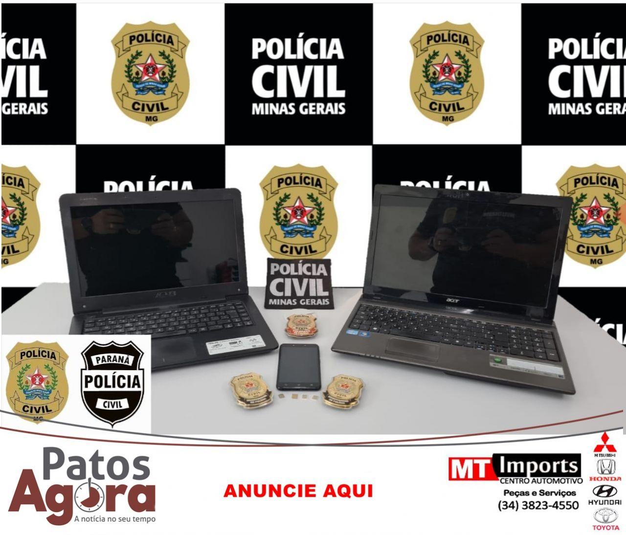 Homem é preso pela PCMG no Paraná após ameaçar juíza de Unaí