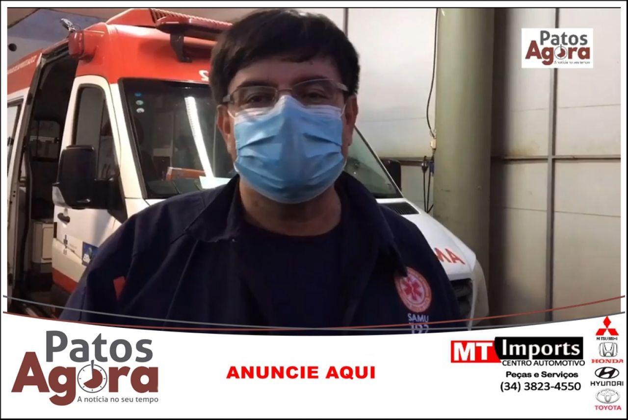 Profissional do SAMU da dicas para para evitar problemas de saúde com as altas temperaturas