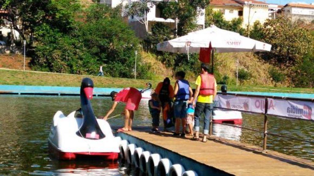 Pedalinhos estão de volta ao Parque Municipal do Mocambo