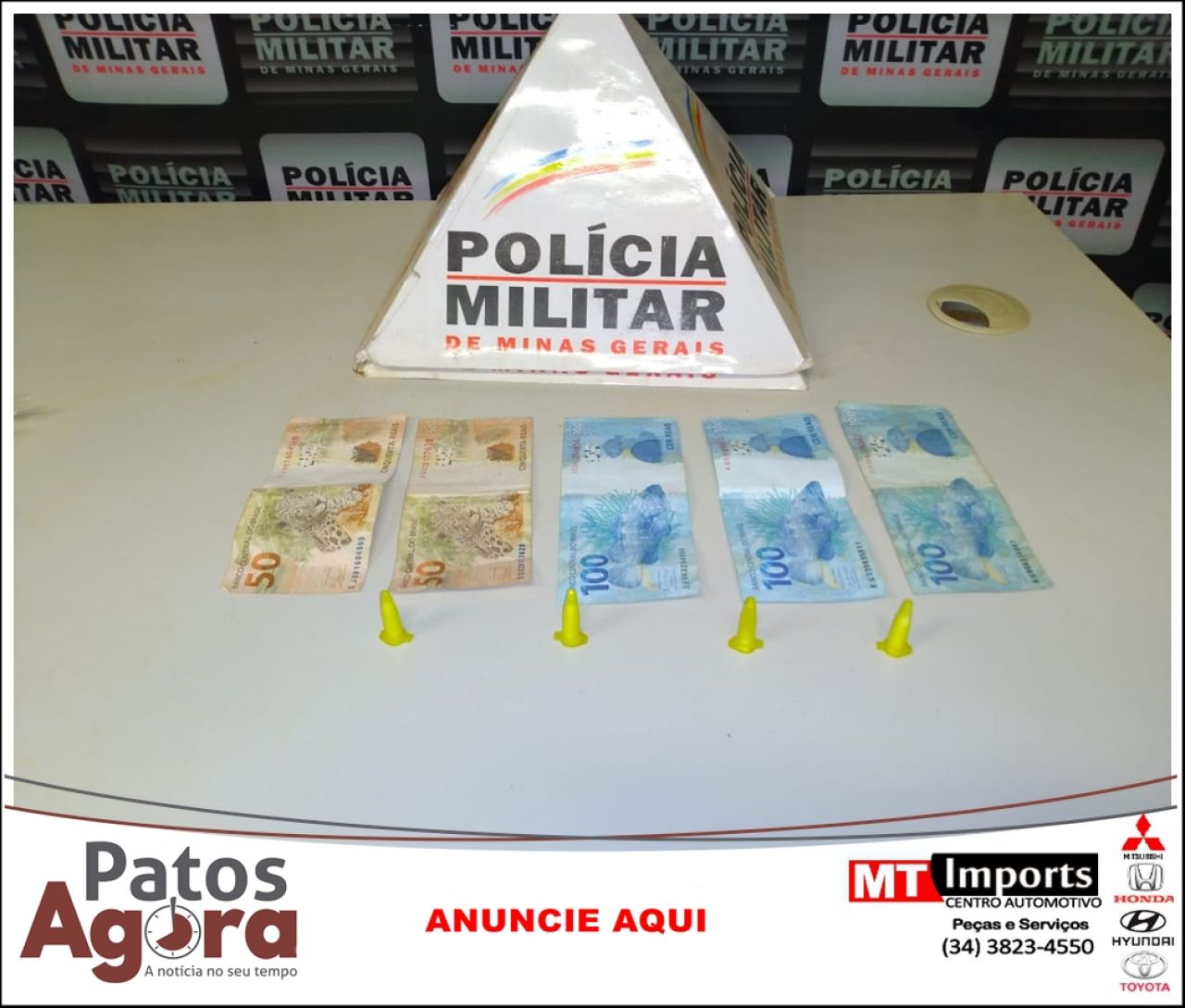 PM prende homem por tráfico de drogas na zona rural de Patrocínio
