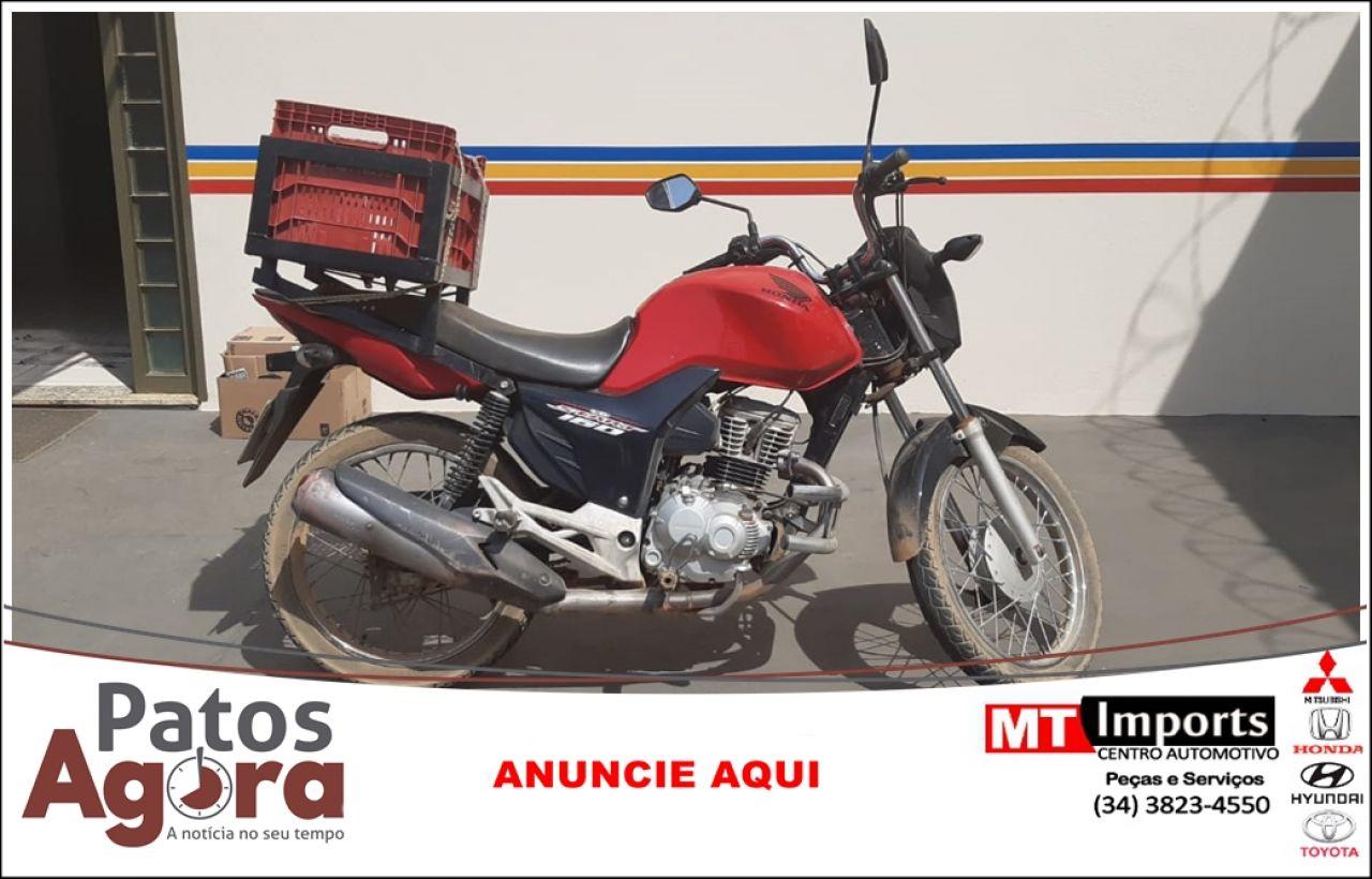 PM Rodoviária recupera motocicleta furtada e prende homem de 26 anos