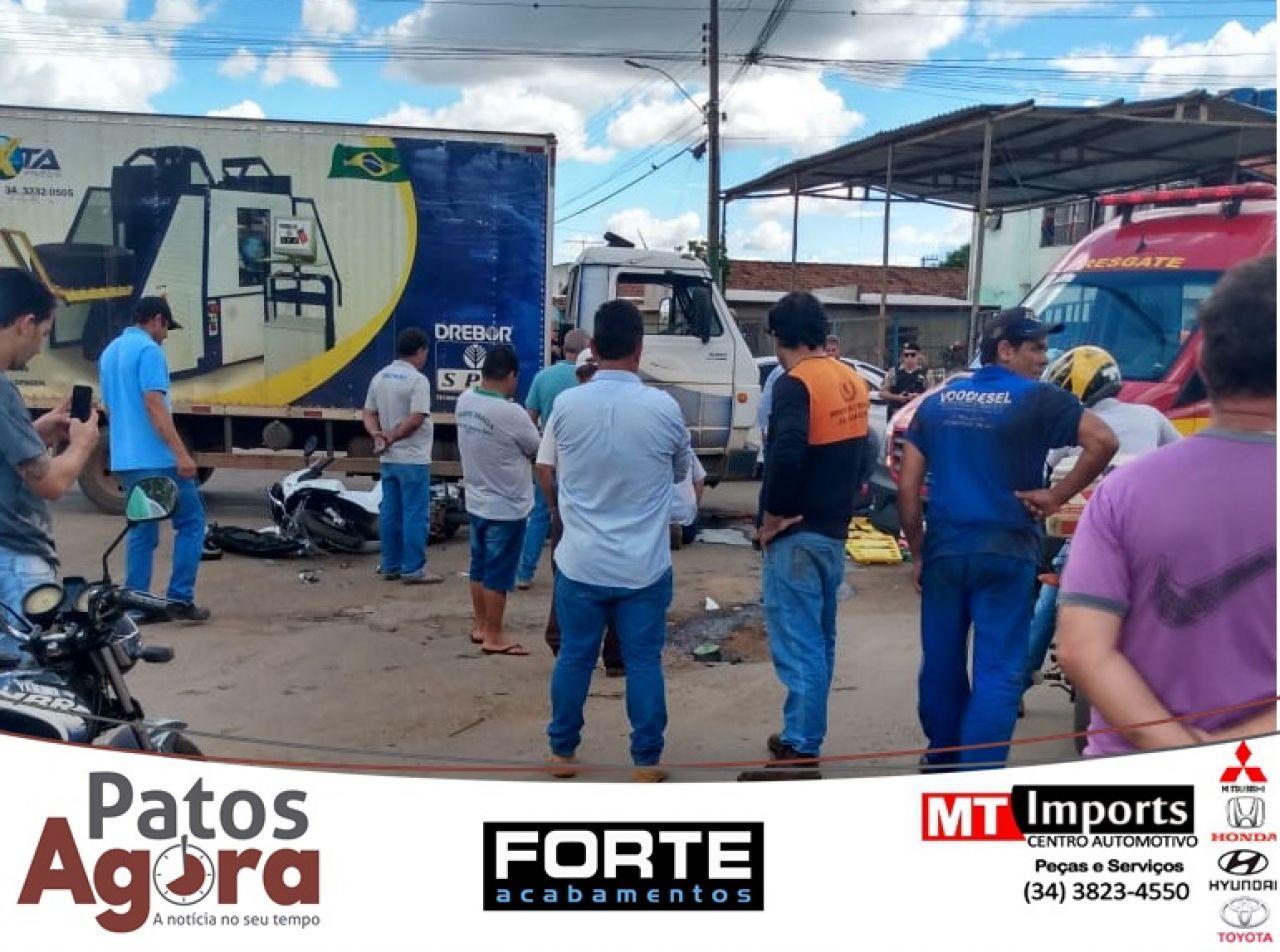 Últimas Notícias:Motociclista morre em grave acidente no bairro Planalto