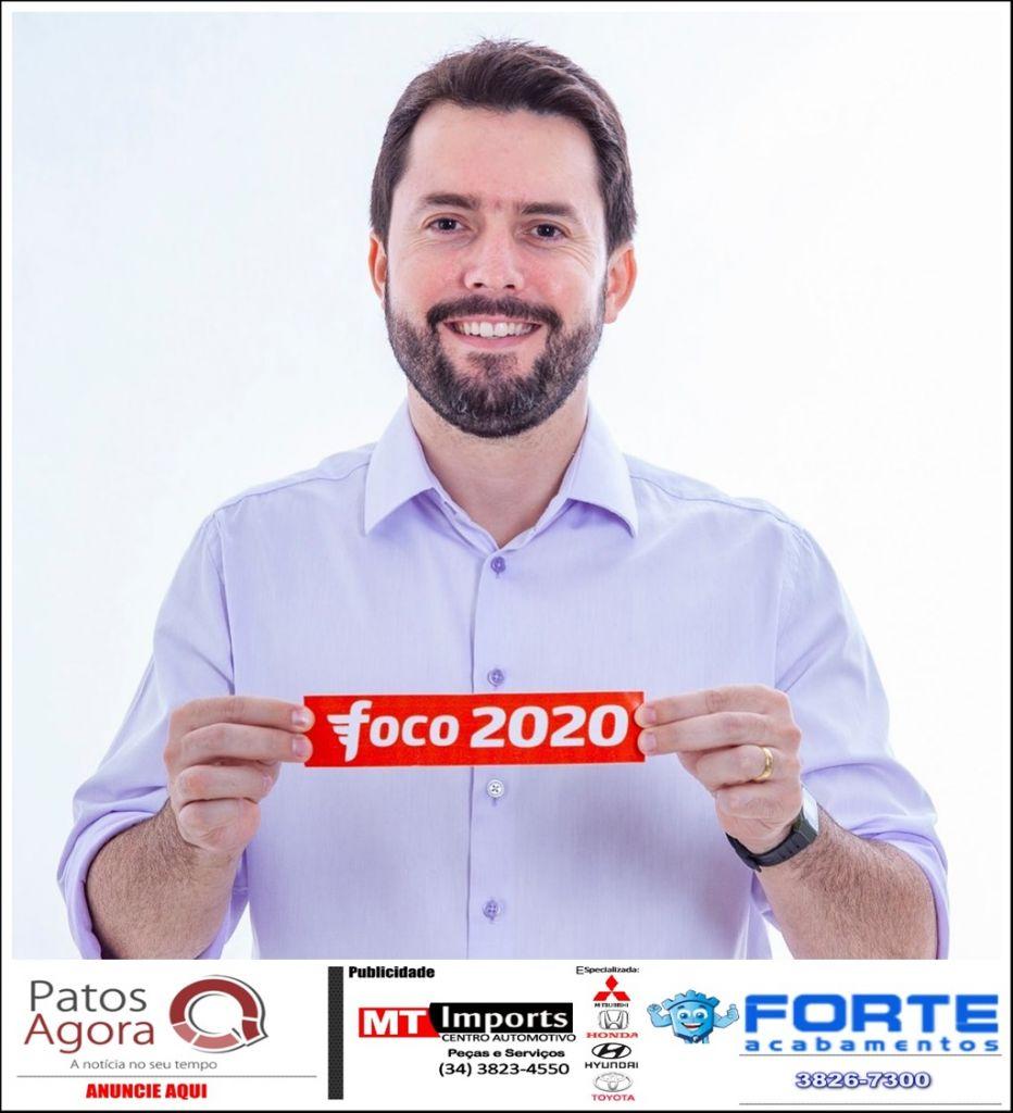 Partido Novo não irá lançar candidatos à Prefeitura de Patos de Minas e Luís Eduardo deixa a agremiação
