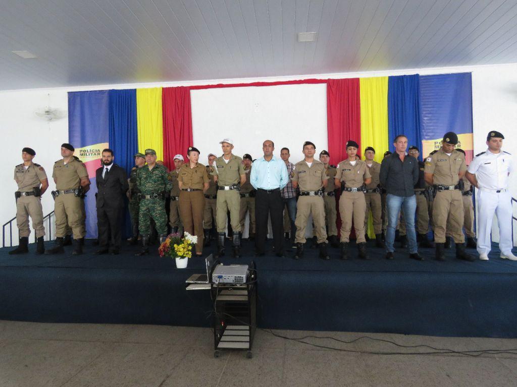 Solenidade do 243º Aniversário da PMMG e 21º Aniversário da 10ª Região da Polícia Militar é realizada