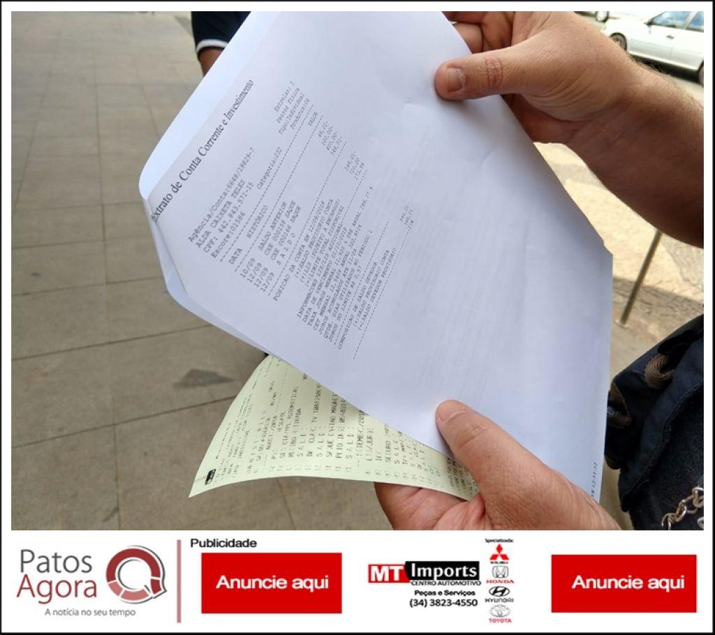 Golpe da recompensa faz mais uma vítima em Patos de Minas e mulher perde mais de 2 mil reais