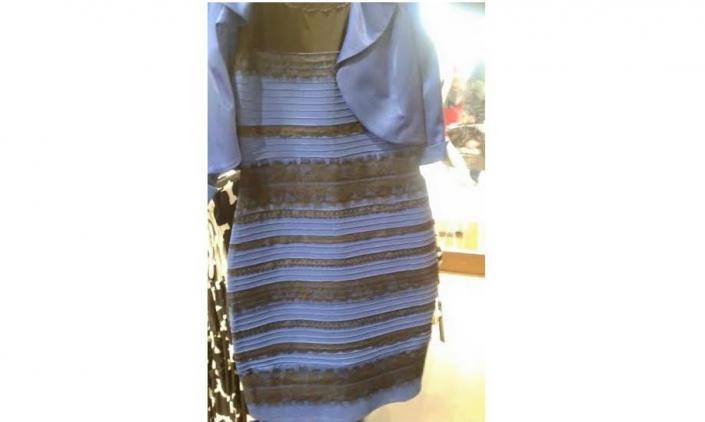 Qual a cor do vestido? A dúvida que bombou nas redes sociais.