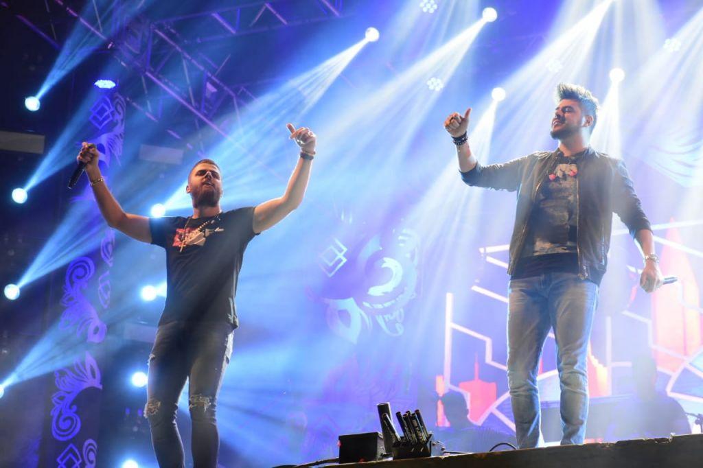Show de Zé Neto e Cristiano  atrai grande público na Fenamilho