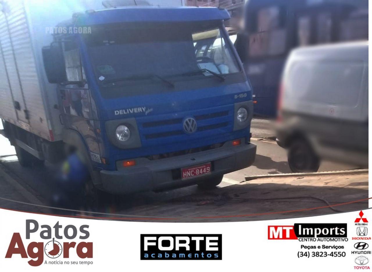 Caminhão é roubado em Uberaba e proprietário de Carmo do Paranaíba pede ajuda