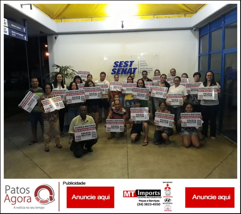 Rede de Vizinhos Protegidos é implementada no Bairro Planalto