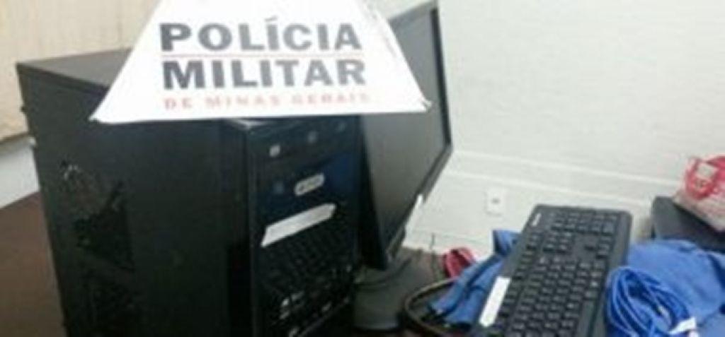 Presidente Olegário: PM recupera computador furtado do Caps no bairro Planalto