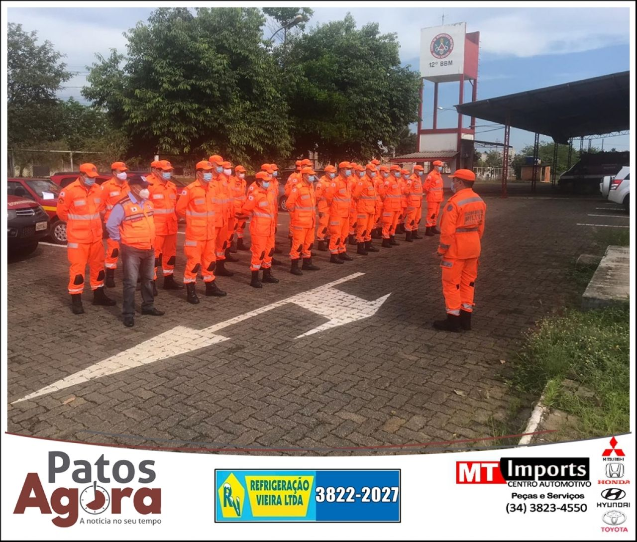 Corpo de Bombeiros vistoria postos de combustíveis na Operação Alerta Vermelho nesta sexta-feira