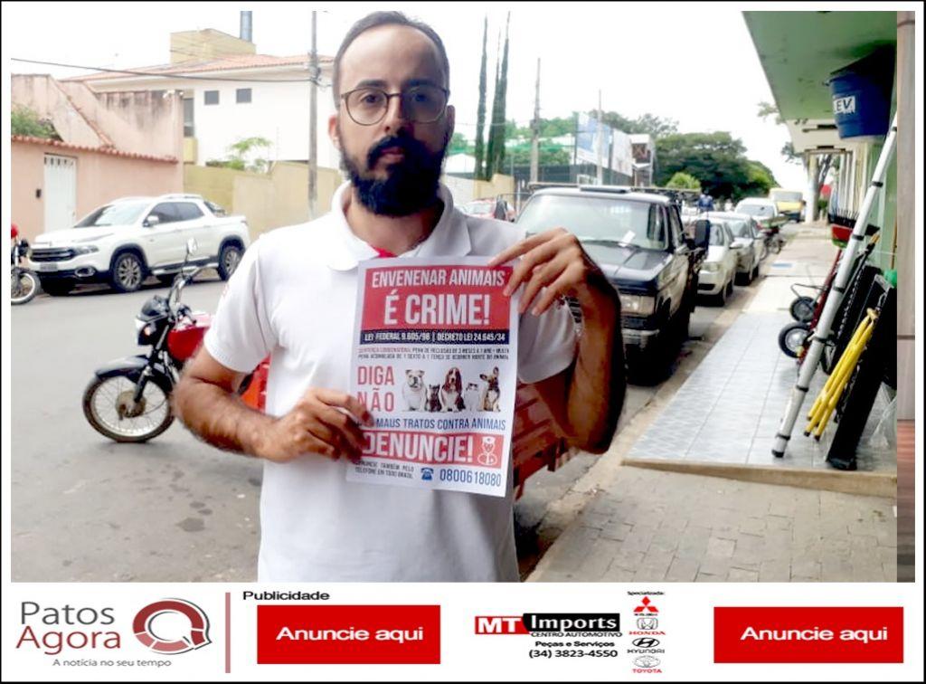 Pinheirense faz campanha contra maus-tratos após ter gato envenenado