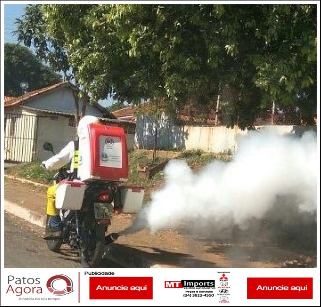 Motofog é utilizada na intensificação das medidas de combate ao mosquito transmissor da dengue