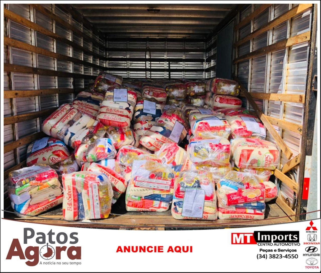 Campanha do Conselho Regional de Odontologia em parceria com produtores rurais arrecada 300 cestas básicas