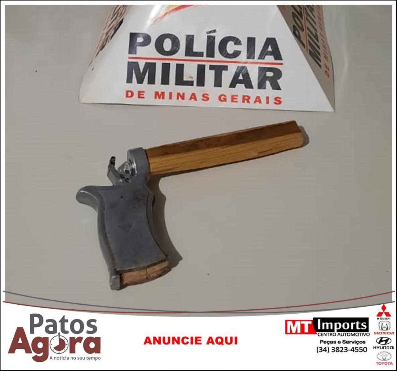Polícia Militar prende autor com mandado de prisão em aberto