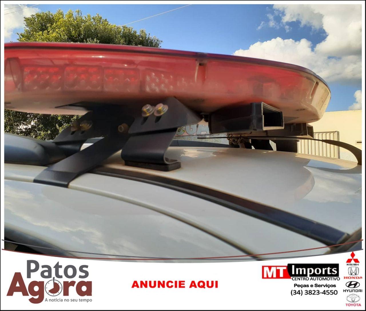 PM de Patrocínio prende suspeito de furto e recupera materiais