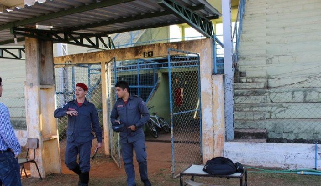 Presidente Olegário: Corpo de Bombeiros interdita Estádio Castilhão
