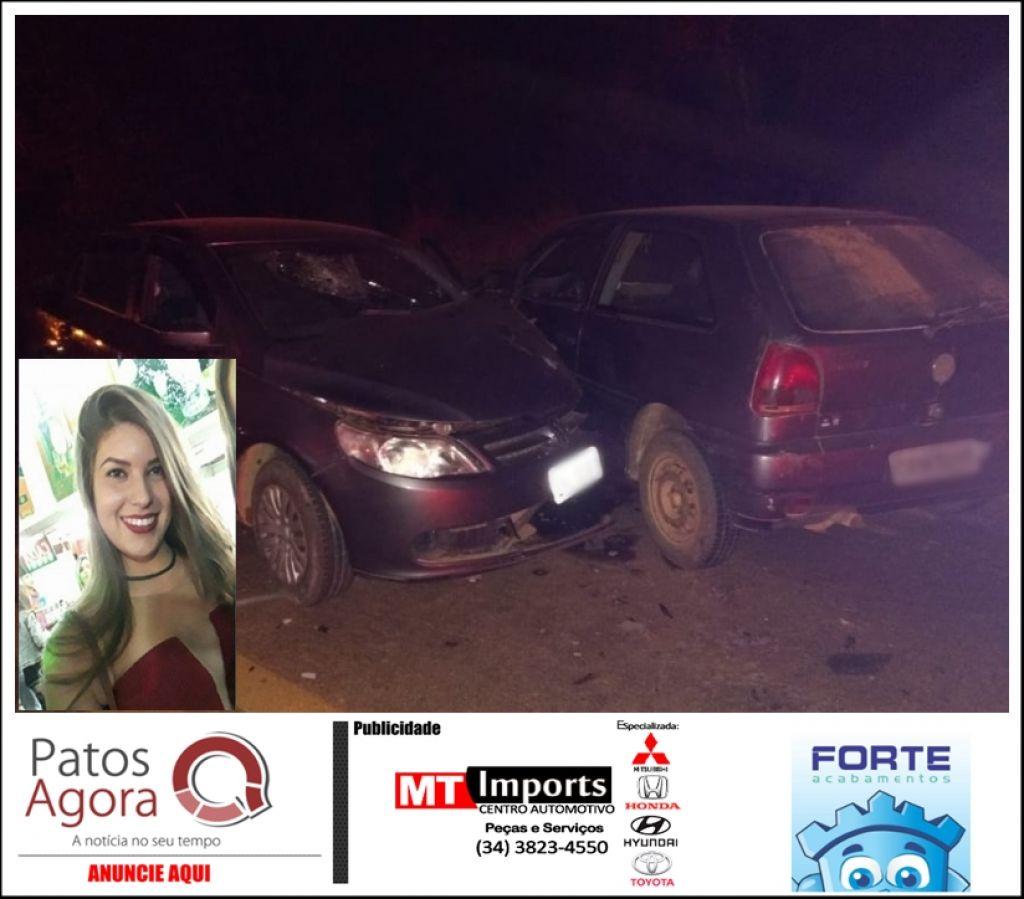 Jovem de 22 anos morre em acidente envolvendo três veículos na rodovia LMG-827