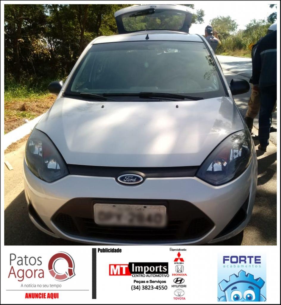 Ação rápida da Polícia Militar Rodoviária recupera veículo furtado em Patos de Minas
