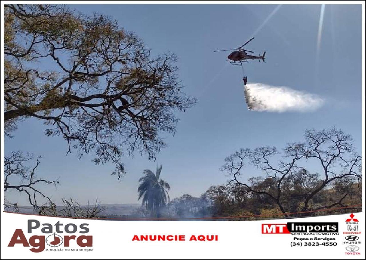 Governo inicia fiscalização ostensiva para reprimir incêndios florestais