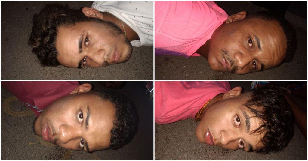 Polícia prende quatro homens suspeitos de vários crimes em João Pinheiro