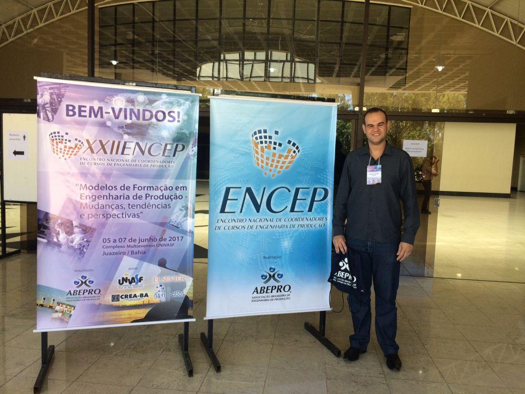 Coordenador de Engenharia de Produção participa de evento na Bahia