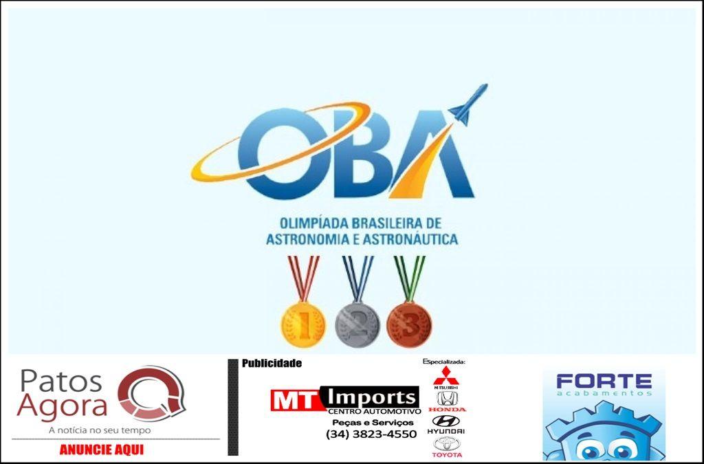 Escolas Patenses são medalhistas na Olimpíada Brasileira de Astronomia e Astronáutica