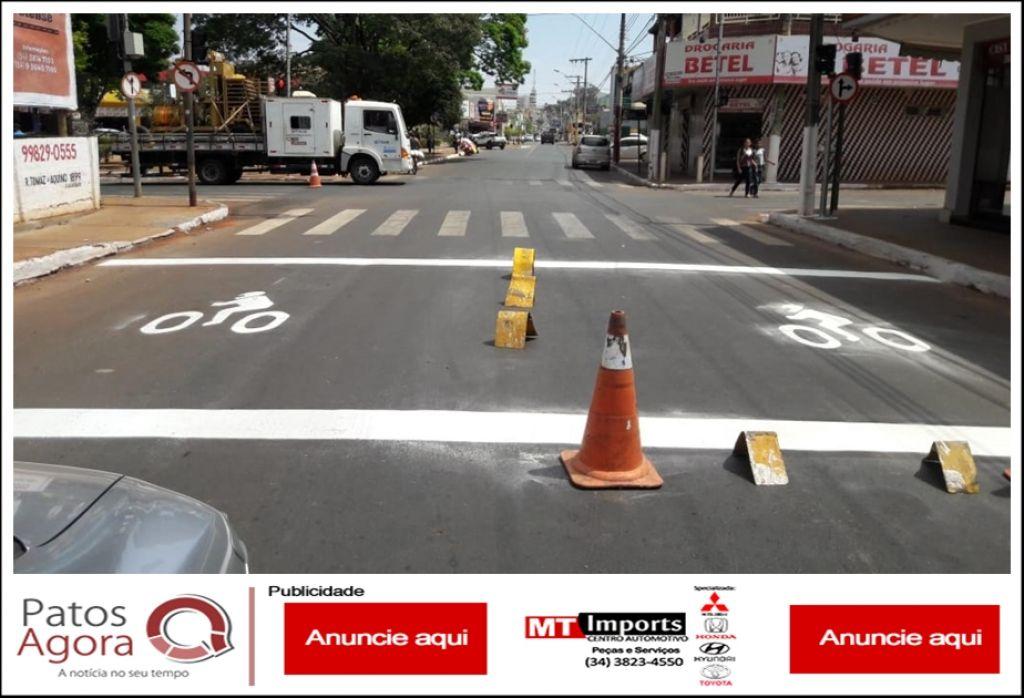 Ponto de Descanso para Motociclistas é implantado no cruzamento da Rua Ataualpa Dias Maciel com a Rua Formiga