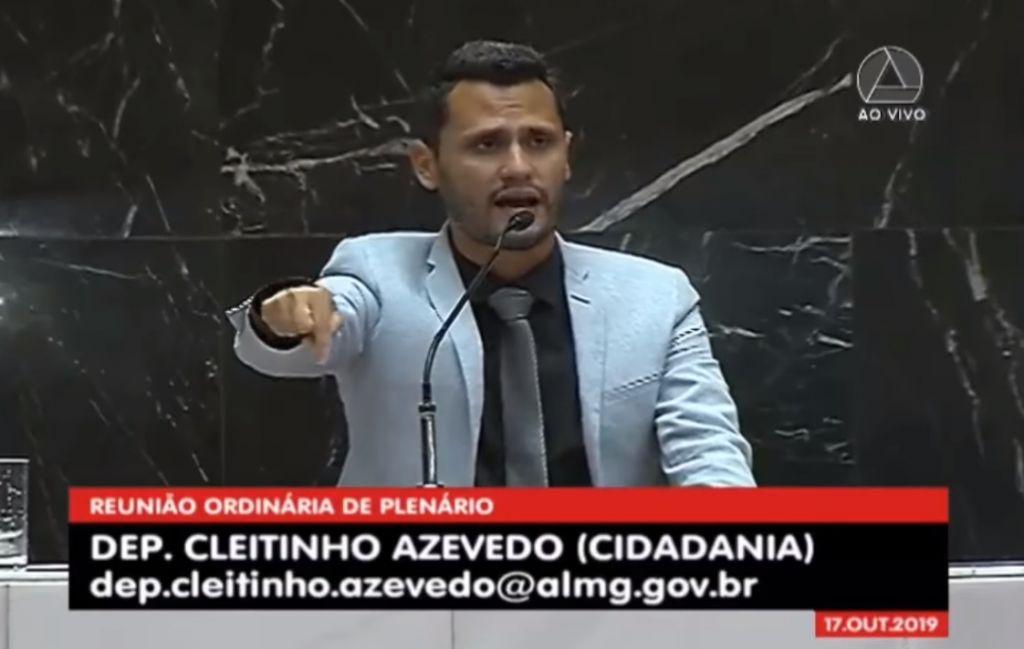 Hely Tarqüínio pede postura e deputado Cleitinho Azevedo usa tribuna na ALMG