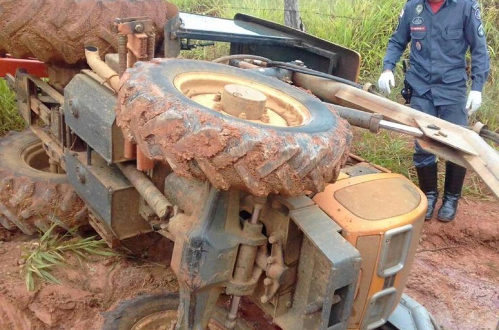 Empresário morre esmagada por trator na zona rural de Patrocínio