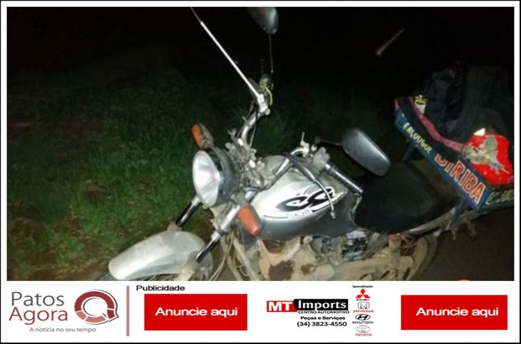 Polícia Militar Rodoviária recupera motocicleta e prende rapaz por furto na MGC- 354