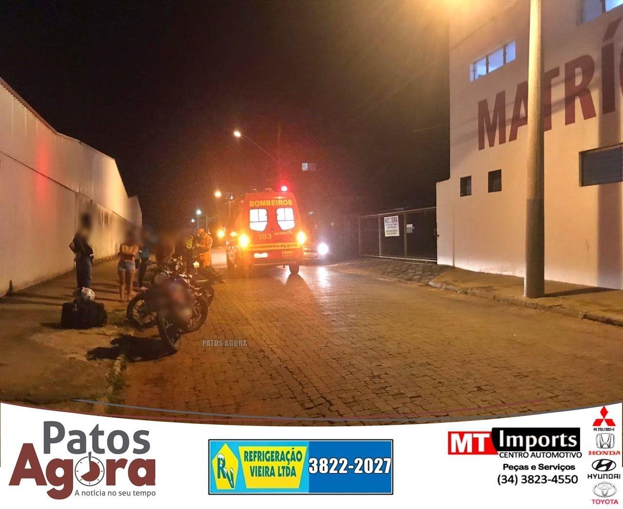 Criança de 6 anos atravessa rua e é atropelada em Patos de Minas