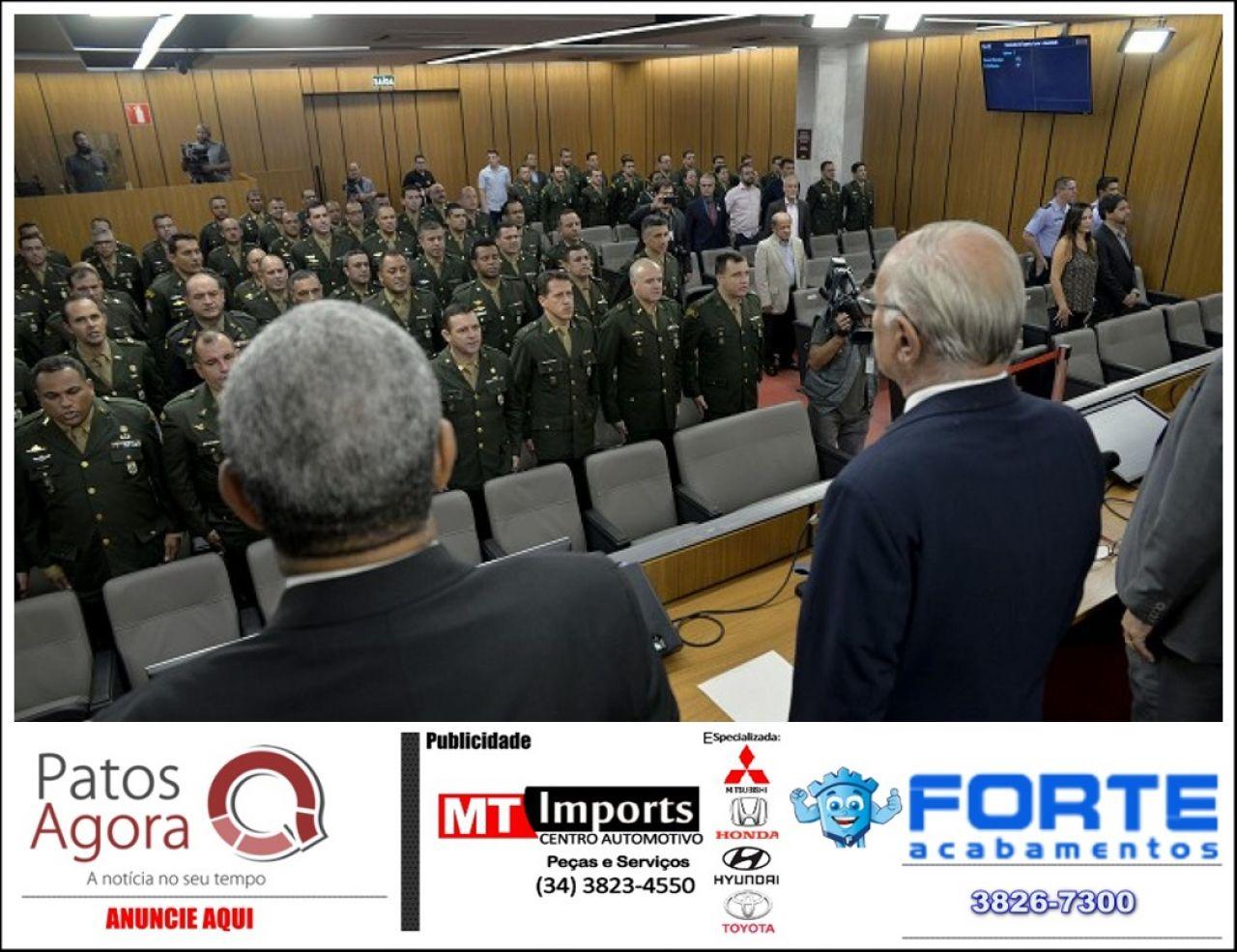 Tiros de Guerra são homenageados pela Assembleia Legislativa de Minas Gerais