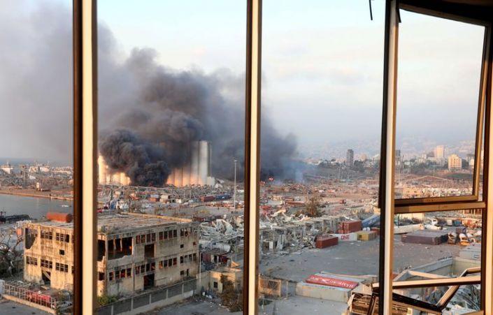 Explosão em Beirute deixa vários mortos e feridos
