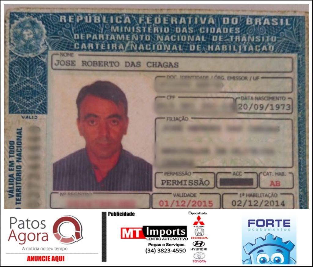 Polícia Militar Rodoviária prende homem de 44 anos com carteira de habilitação falsificada