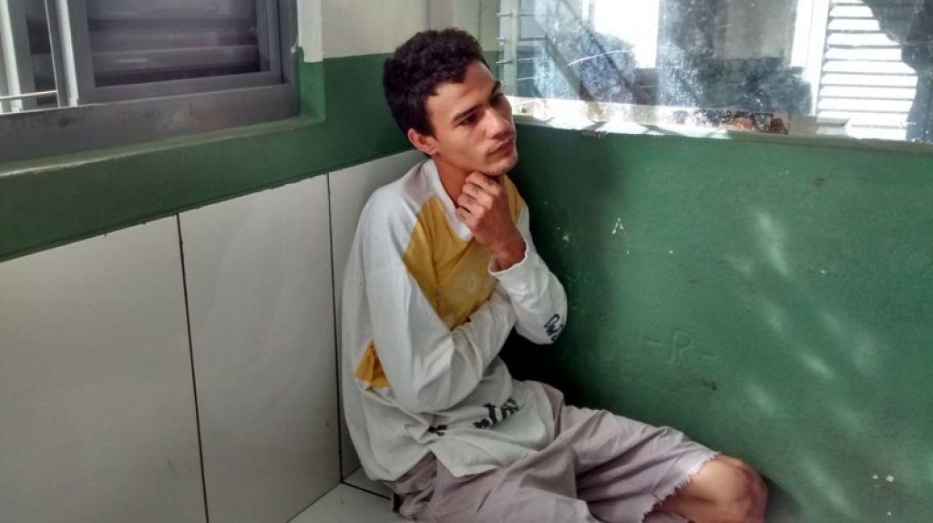 Rapaz de 20 anos é preso no distrito Alagoas por suspeita de vários furtos