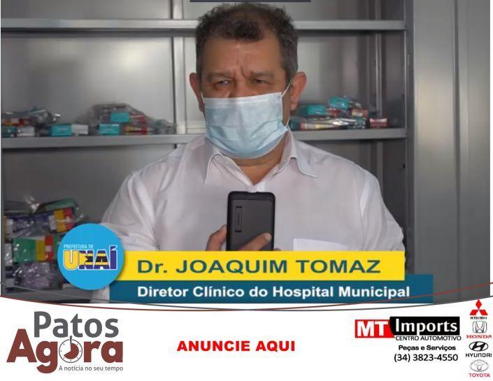Prefeitura de Unaí distribui kits com Azitromicina; Nitazoxanida; Dexametasona e Cloroquina