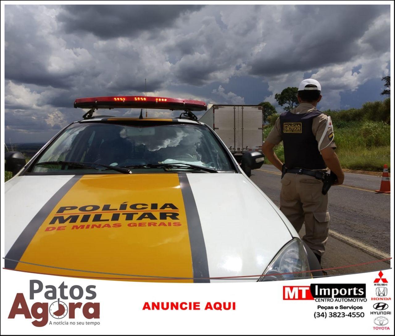 Condutor embriagado é preso durante Operação Lei Seca na rodovia MG 235