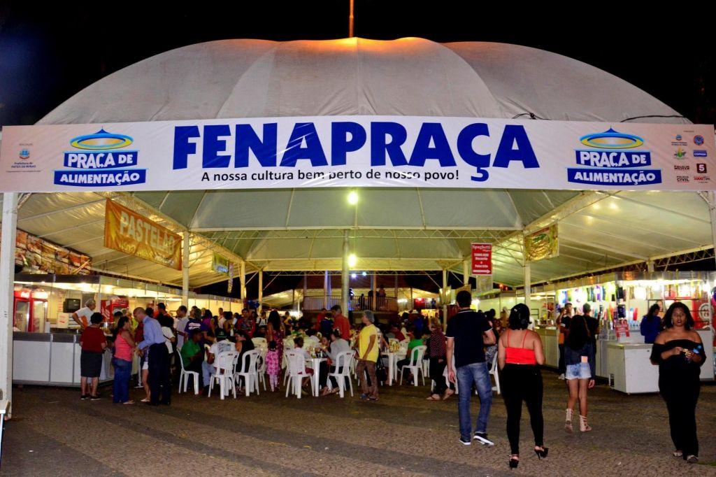 Fenapraça inicia-se amanhã com exposições artísticas, shows musicais e peças teatrais