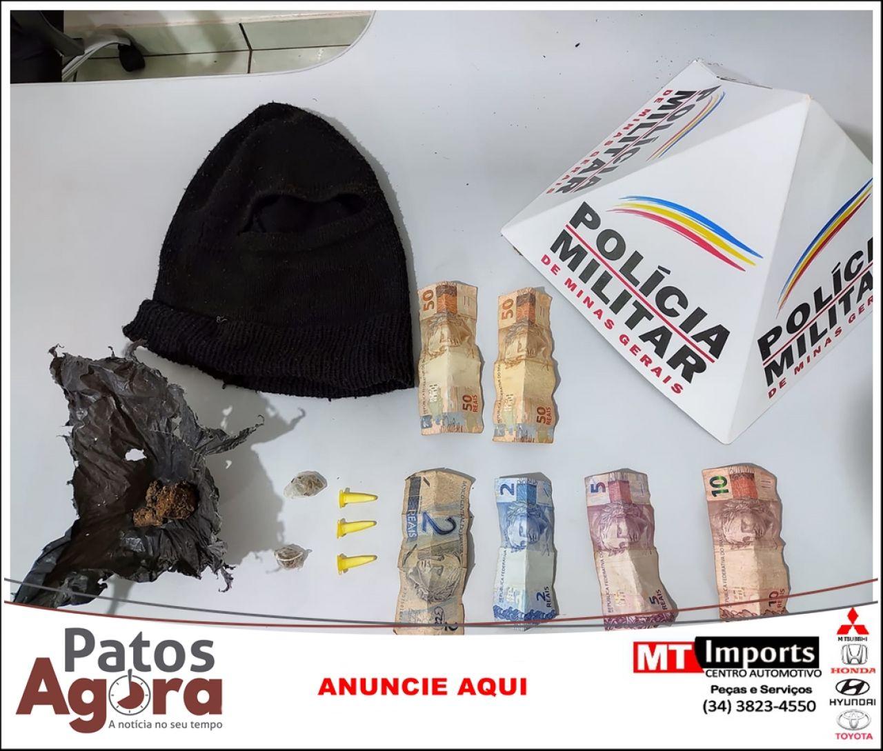 PM de Serra do Salitre prende 4 pessoas por tráfico de drogas