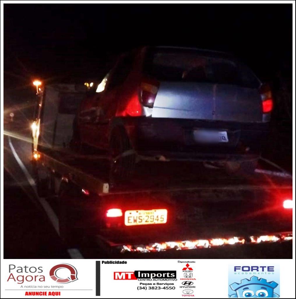 Condutor embriagado é preso após ser flagrado fazendo ziguezague na rodovia MG-230