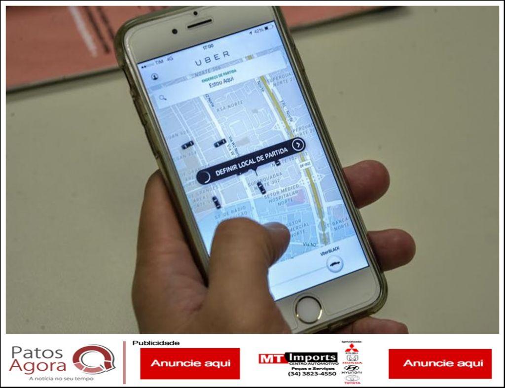 Polêmico projeto que regulamenta transporte por aplicativo, em Patos de Minas, será votado nesta quinta-feira