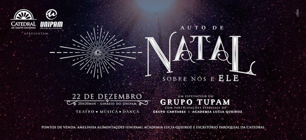 """Catedral de Santo Antônio, UNIPAM e parceiros realizam """"Auto de Natal"""""""