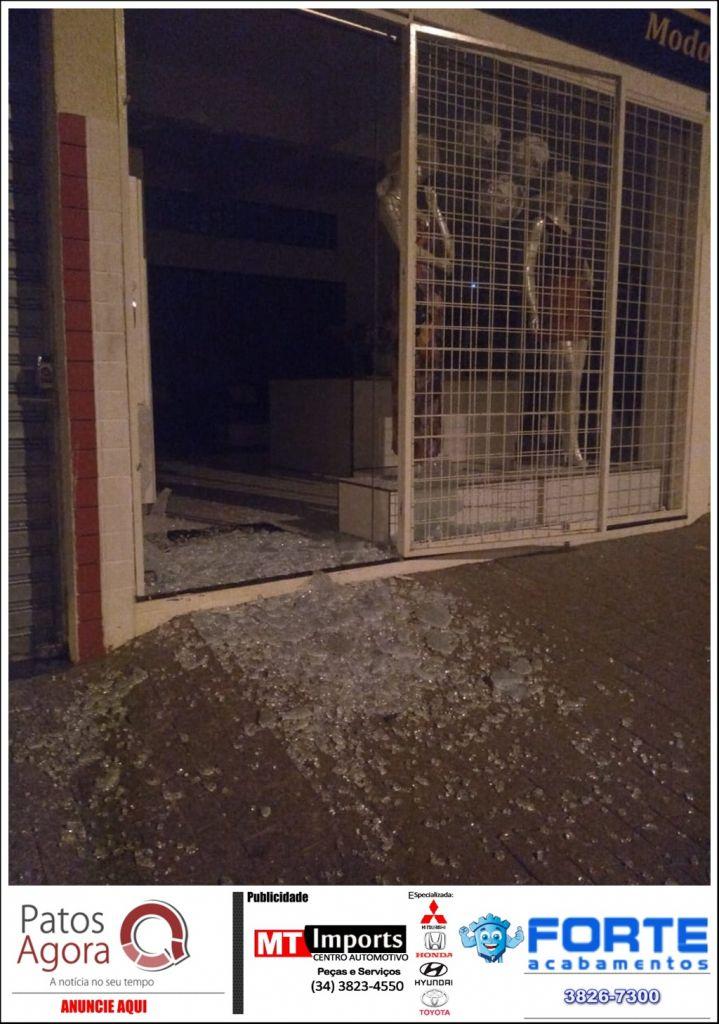 Homem é preso suspeito de arrombar e furtar loja no Bairro Alvorada